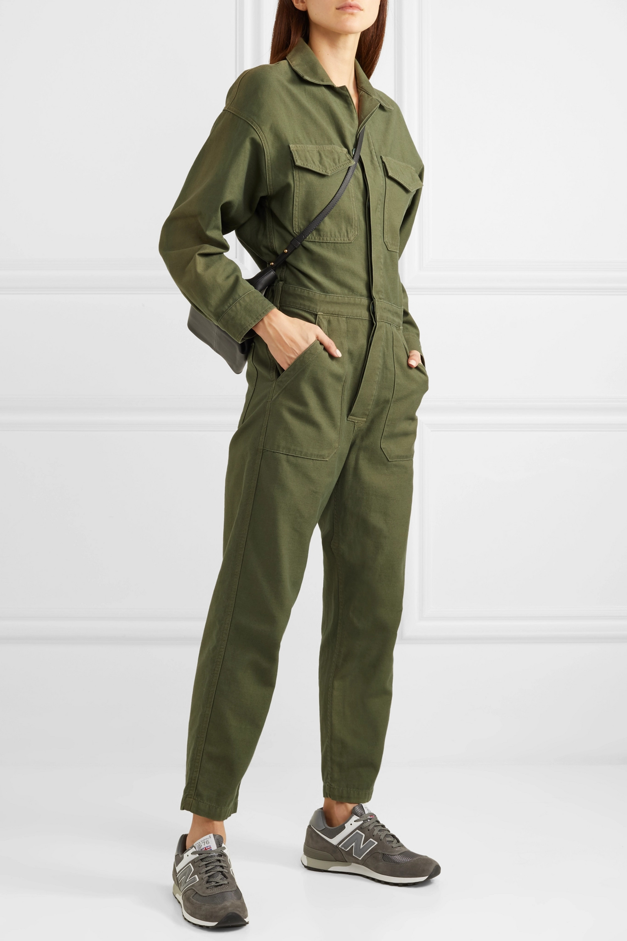 Citizens of Humanity Marta cotton-canvas jumpsuit