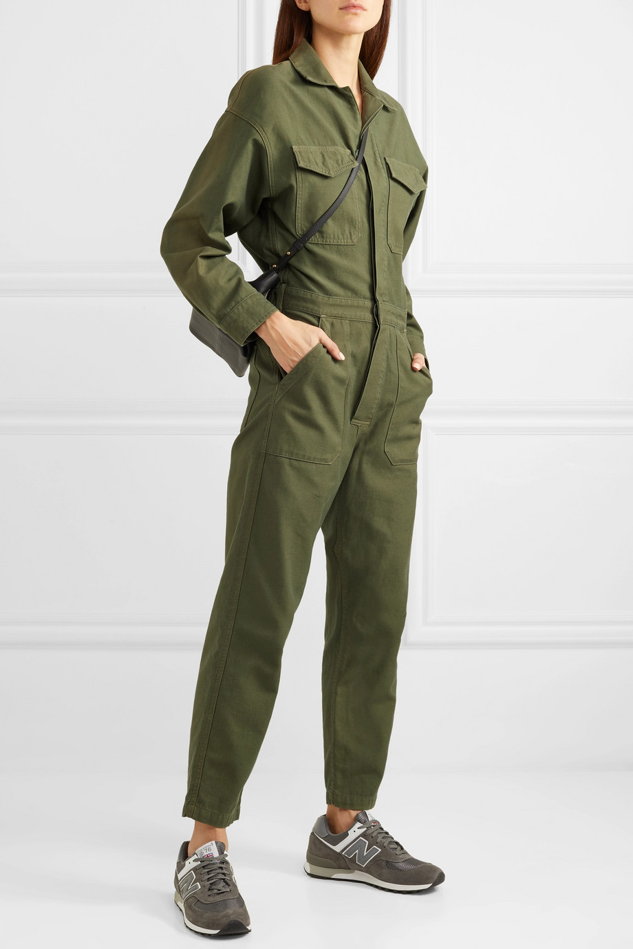 Citizens of Humanity Marta Jumpsuit aus Baumwoll-Canvas