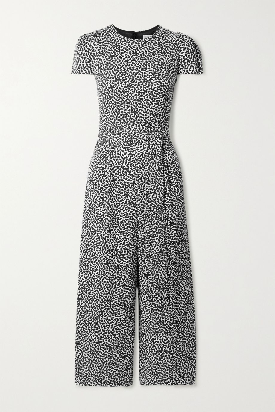 MICHAEL Michael Kors Belted printed twill jumpsuit
