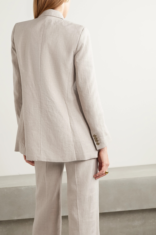 MICHAEL Michael Kors Double-breasted linen blazer