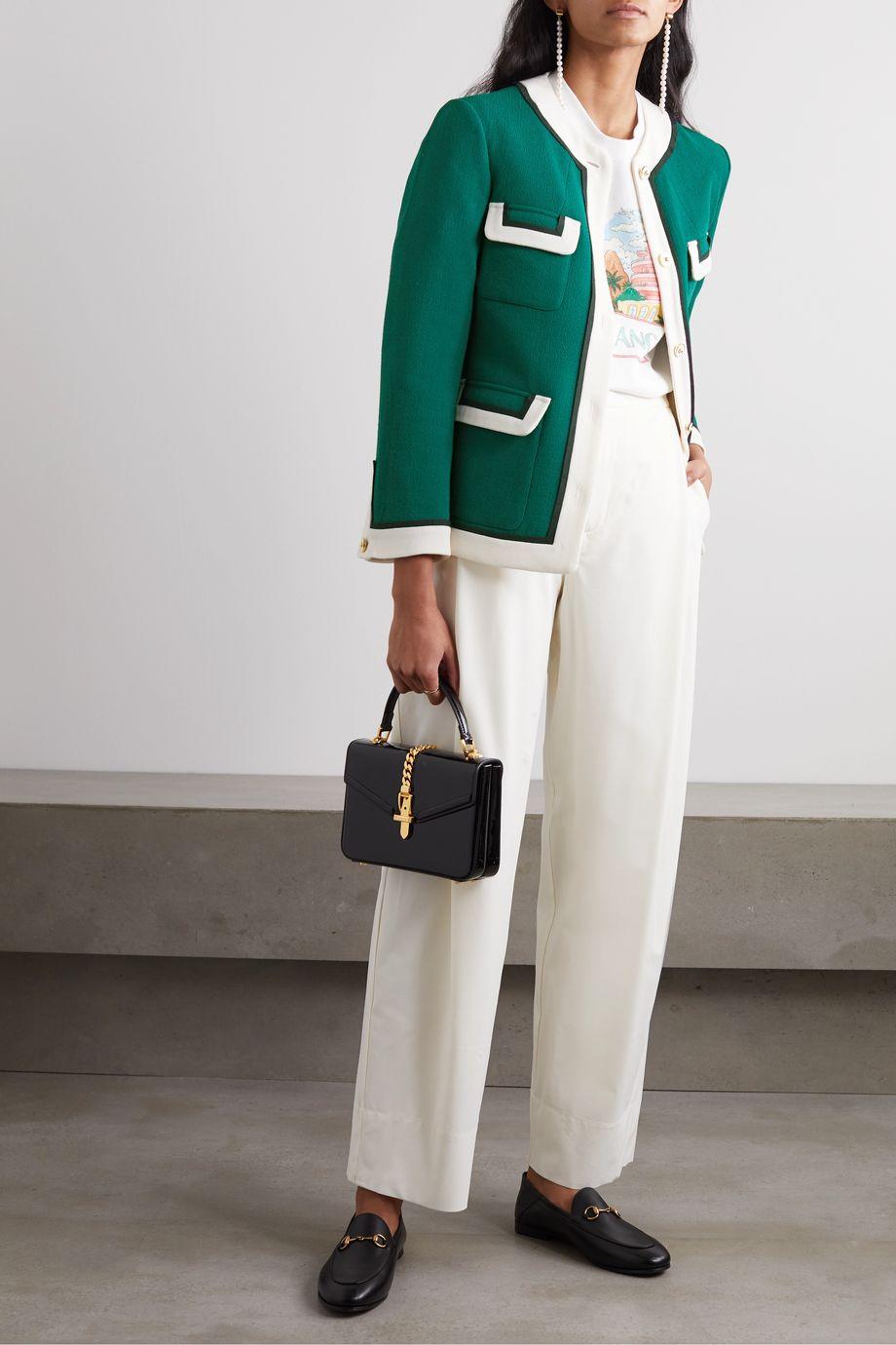 Casablanca Wool-crepe jacket