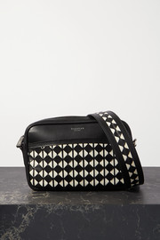 Serapian Two-tone woven leather shoulder bag
