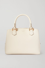 Serapian Luna mini textured-leather tote