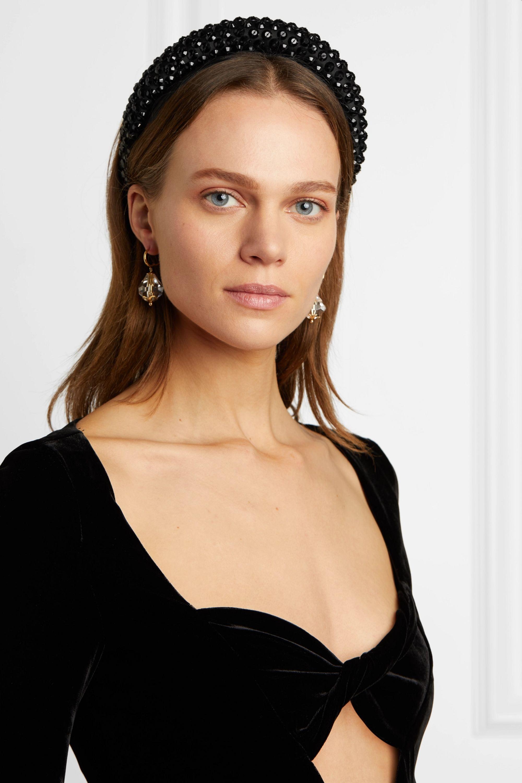 MaryJane Claverol Carrie sequined satin headband