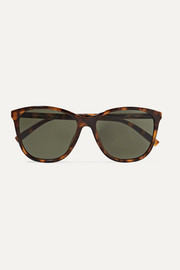 Le Specs Entitlement cat-eye tortoiseshell acetate sunglasses