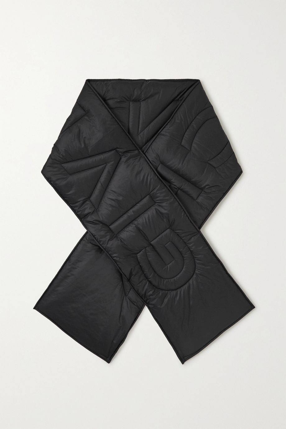 Givenchy Quilted padded shell scarf