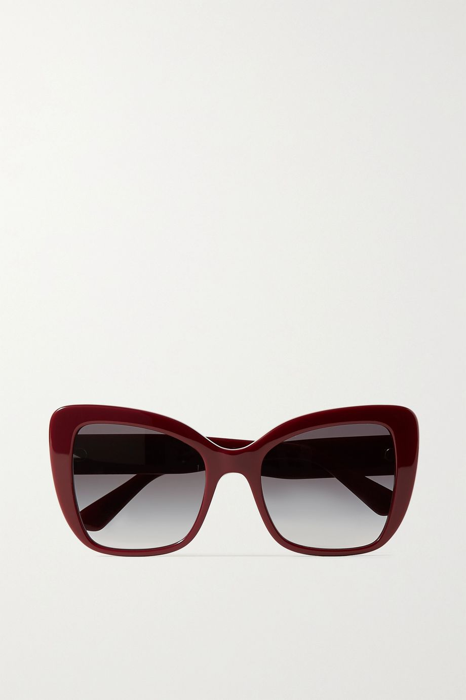 Dolce & Gabbana Oversized cat-eye acetate sunglasses