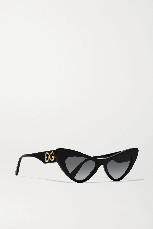 Dolce & Gabbana Sonnenbrille mit Cat-Eye-Rahmen aus Azetat