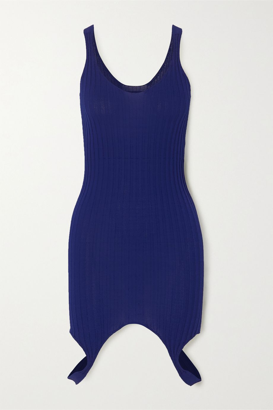 ioannes Ribbed-knit mini dress