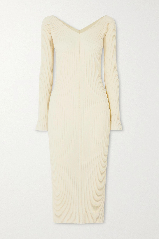 ioannes Tights Kleid aus einer gerippten Wollmischung