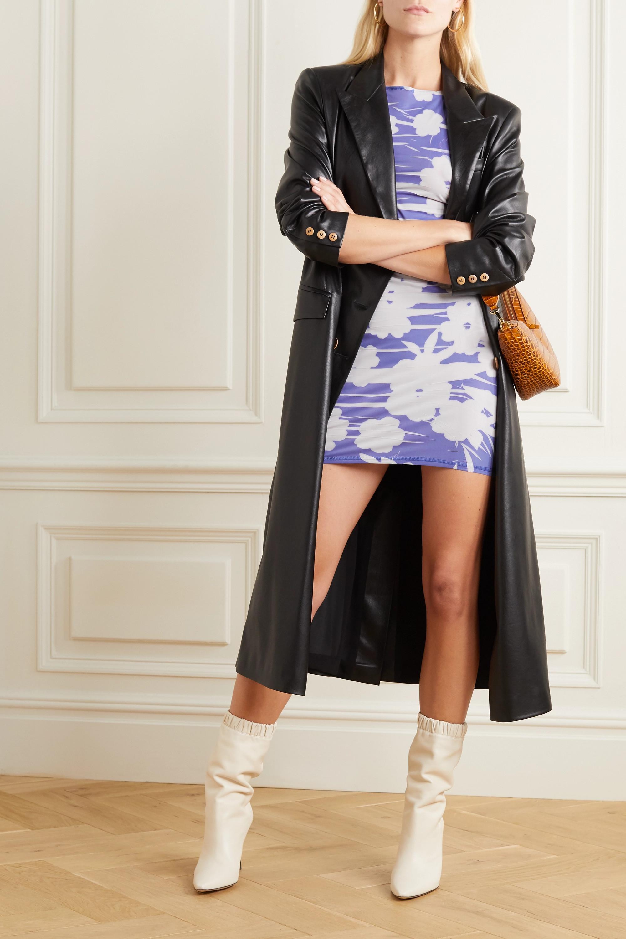 ioannes Carrie Minikleid aus Stretch-Jersey mit Blumenprint