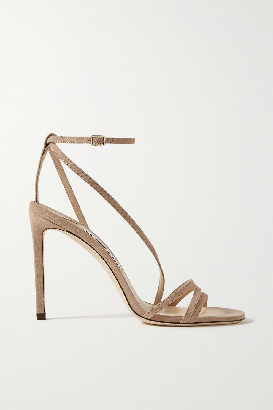 Jimmy Choo Tesca 100 suede sandals