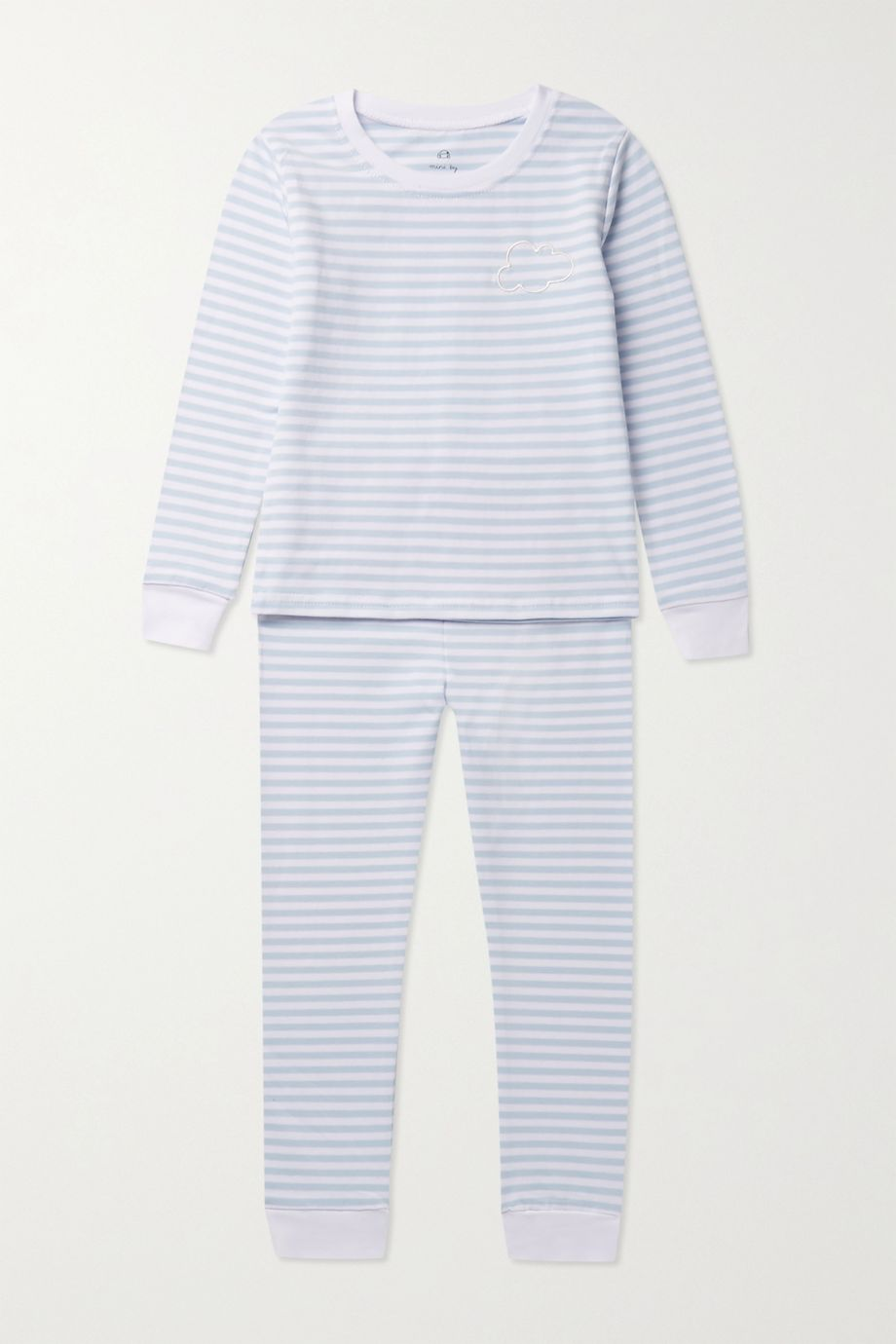 Morgan Lane Kids 【1 - 8 岁】Lulu 印花弹力棉质平纹布睡衣套装