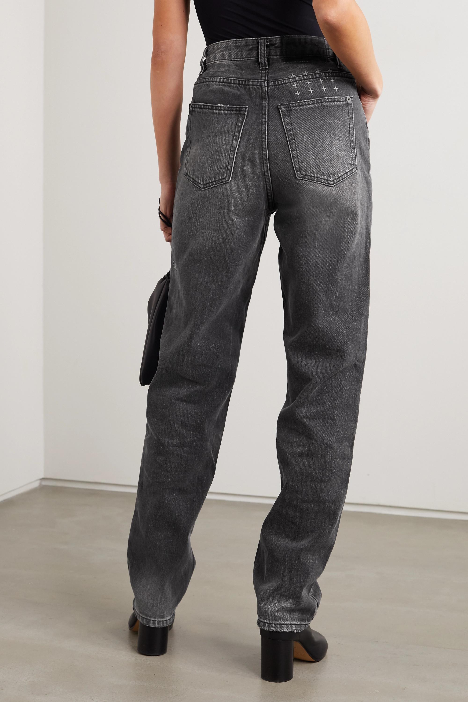 Ksubi Playback hoch sitzende Jeans mit geradem Bein