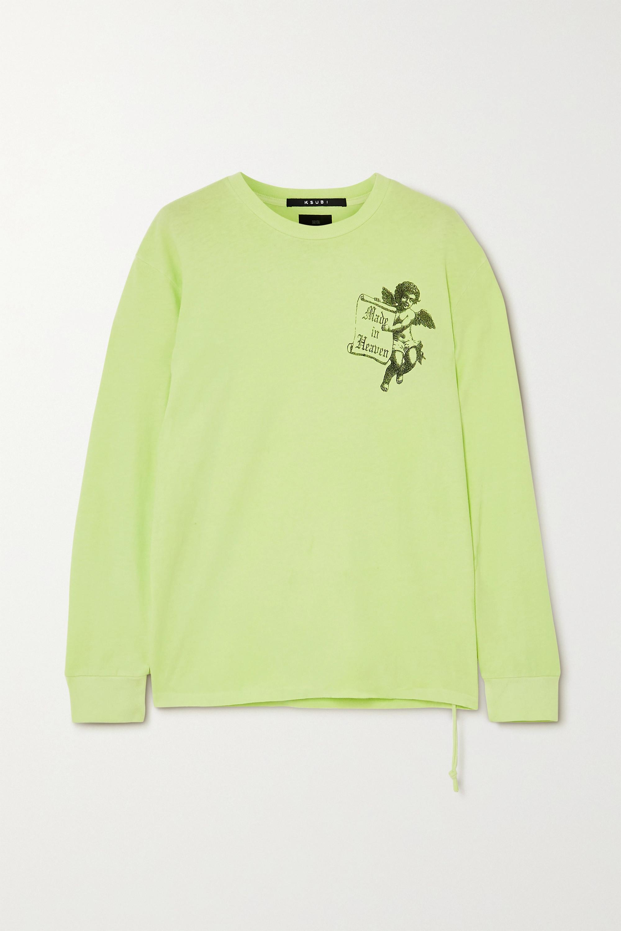 Ksubi Heaven printed cotton-jersey T-shirt