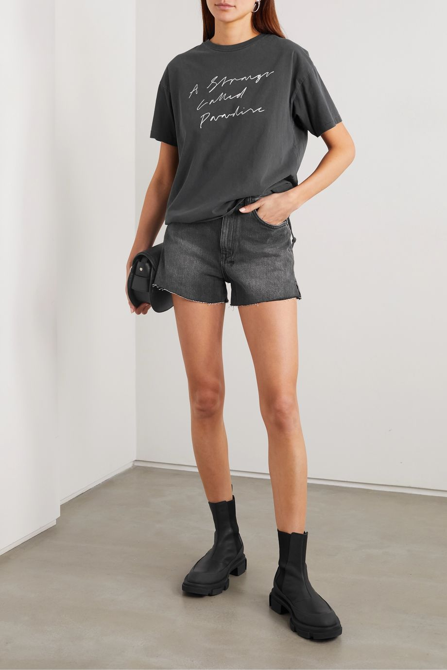 Ksubi Printed cotton-jersey T-shirt