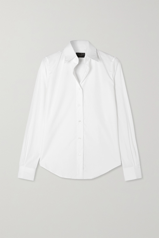 Emma Willis + NET SUSTAIN cotton-poplin shirt