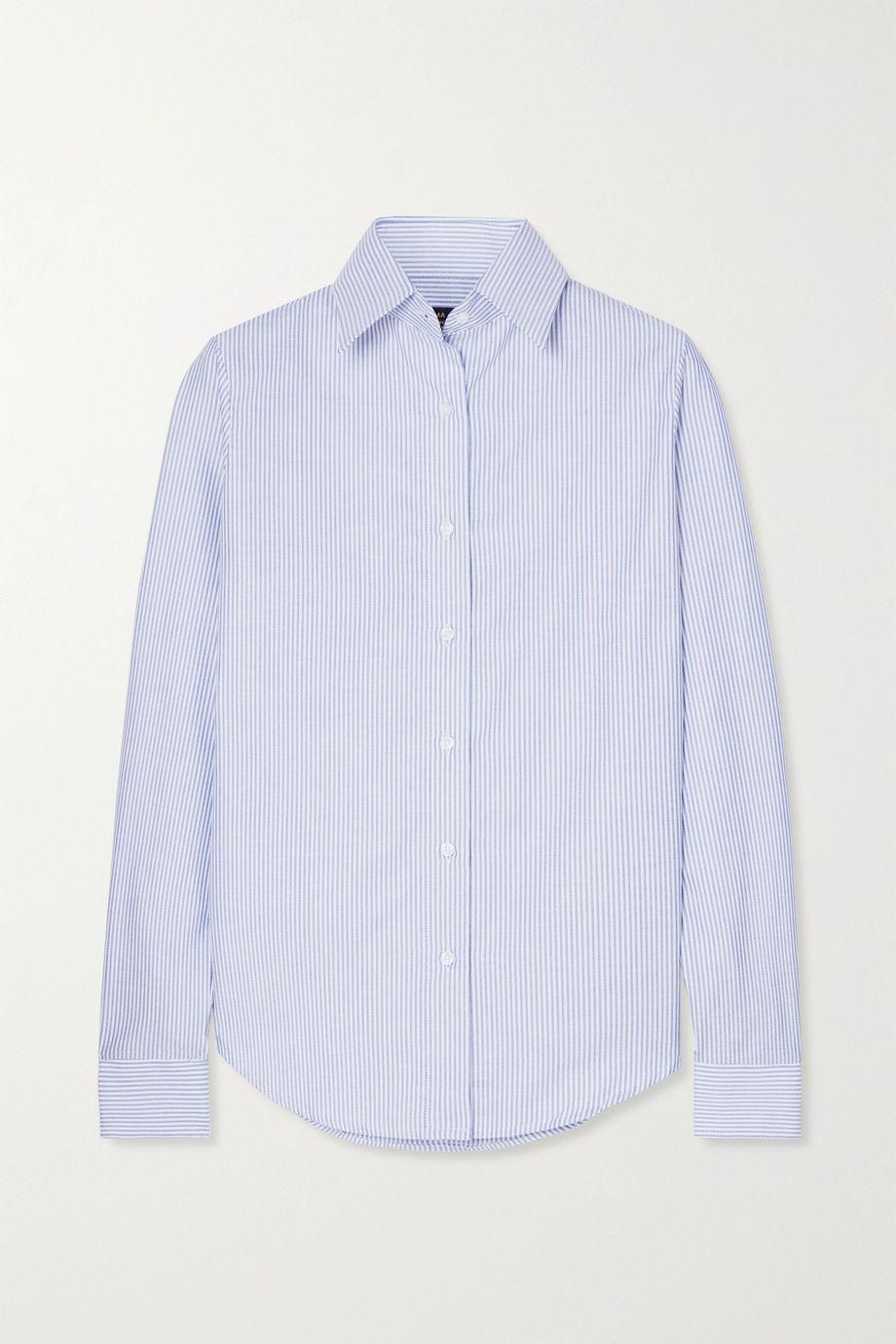 Emma Willis Striped cotton Oxford shirt