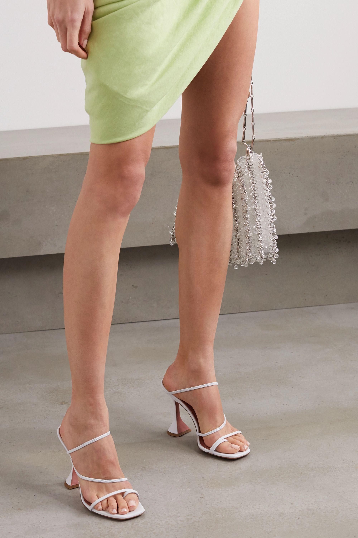 Amina Muaddi Naima leather sandals