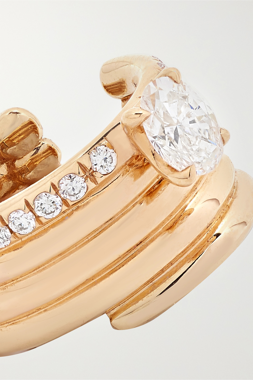 Repossi Blast 18-karat rose gold diamond ear cuff