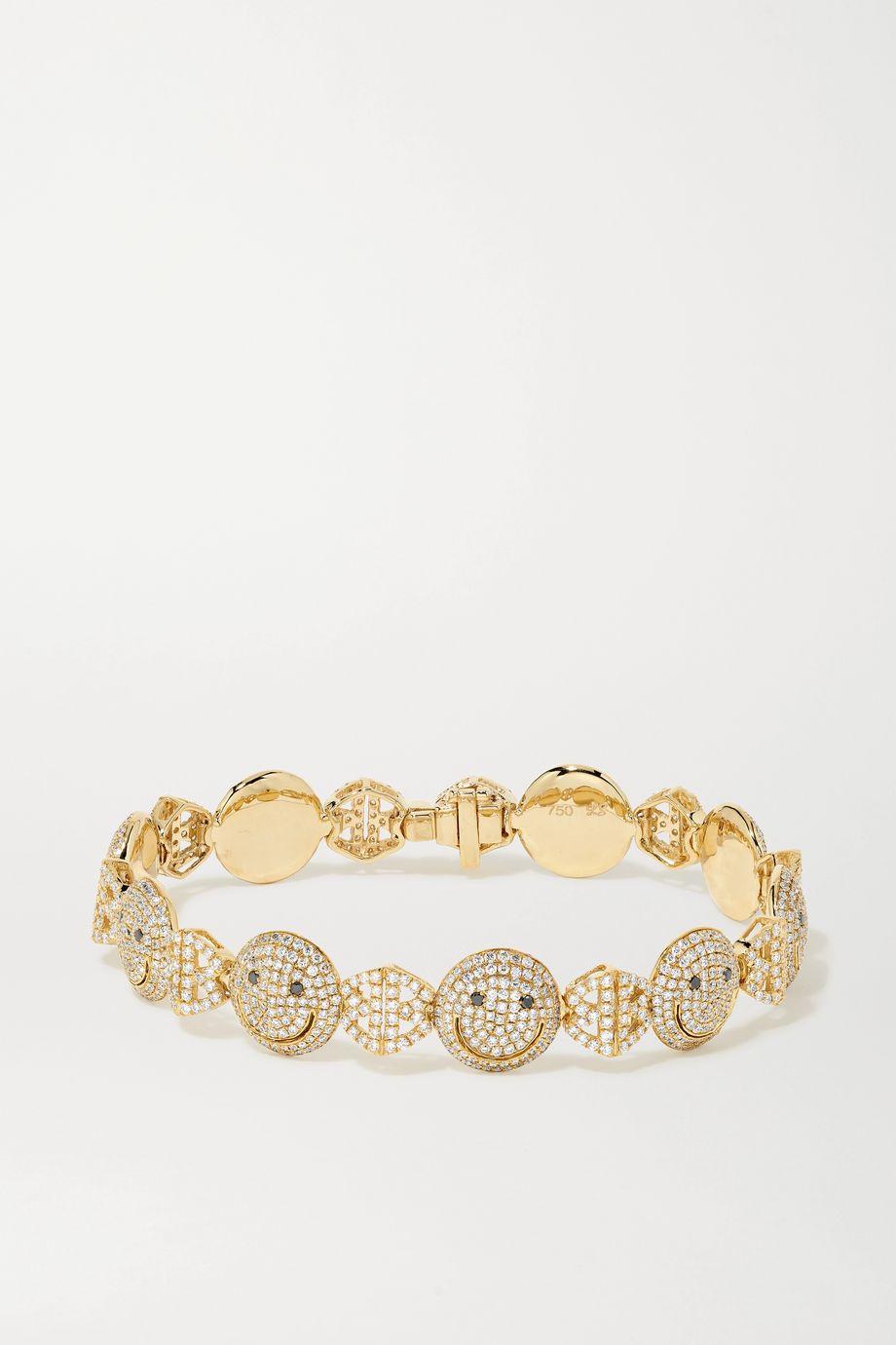 Lorraine Schwartz 18-karat gold diamond bracelet