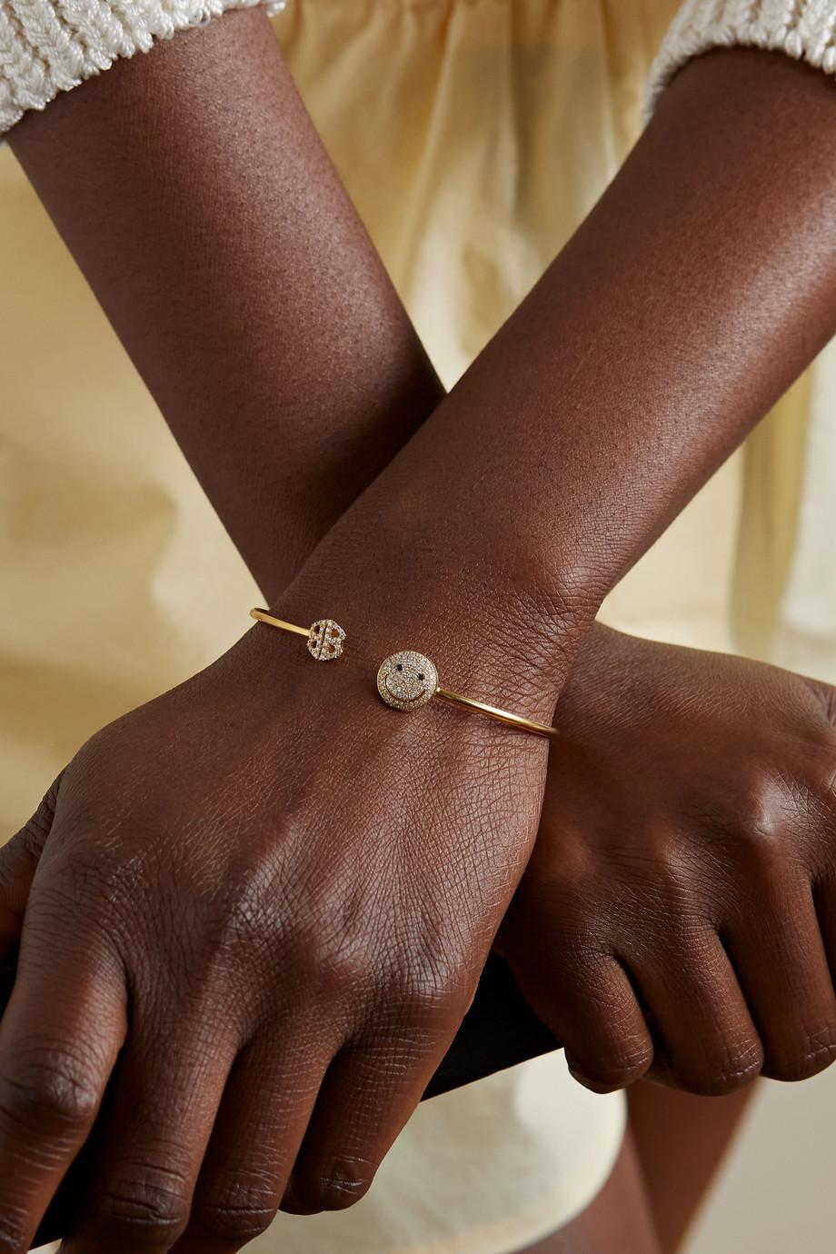 Lorraine Schwartz Armspange aus 18Karat Gold mit Diamanten