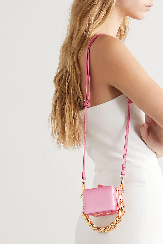 16ARLINGTON Ralphie mini satin shoulder bag