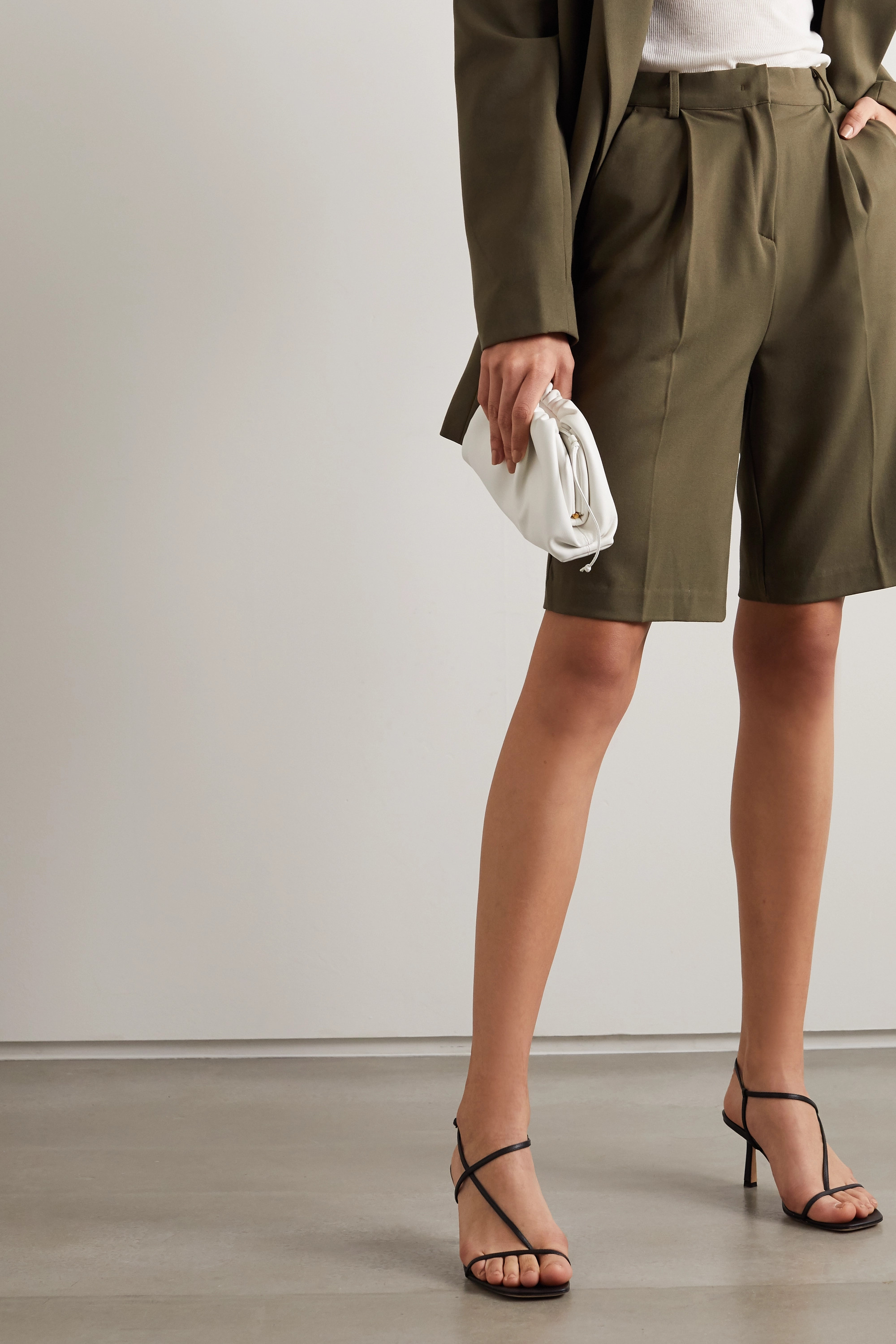 STUDIO AMELIA 2.5 leather sandals