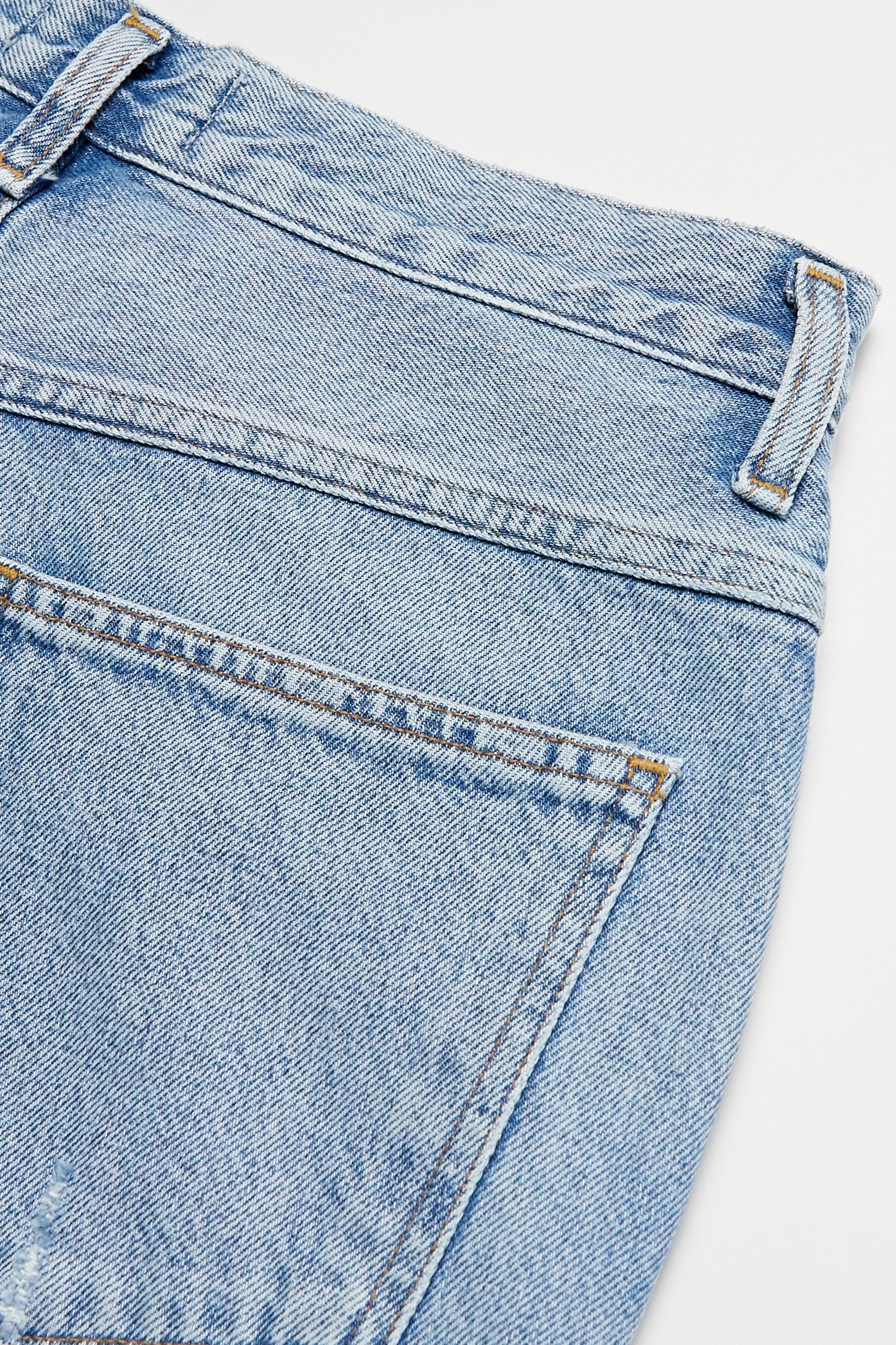 AGOLDE Pinch Waist cropped distressed high-rise flared jeans