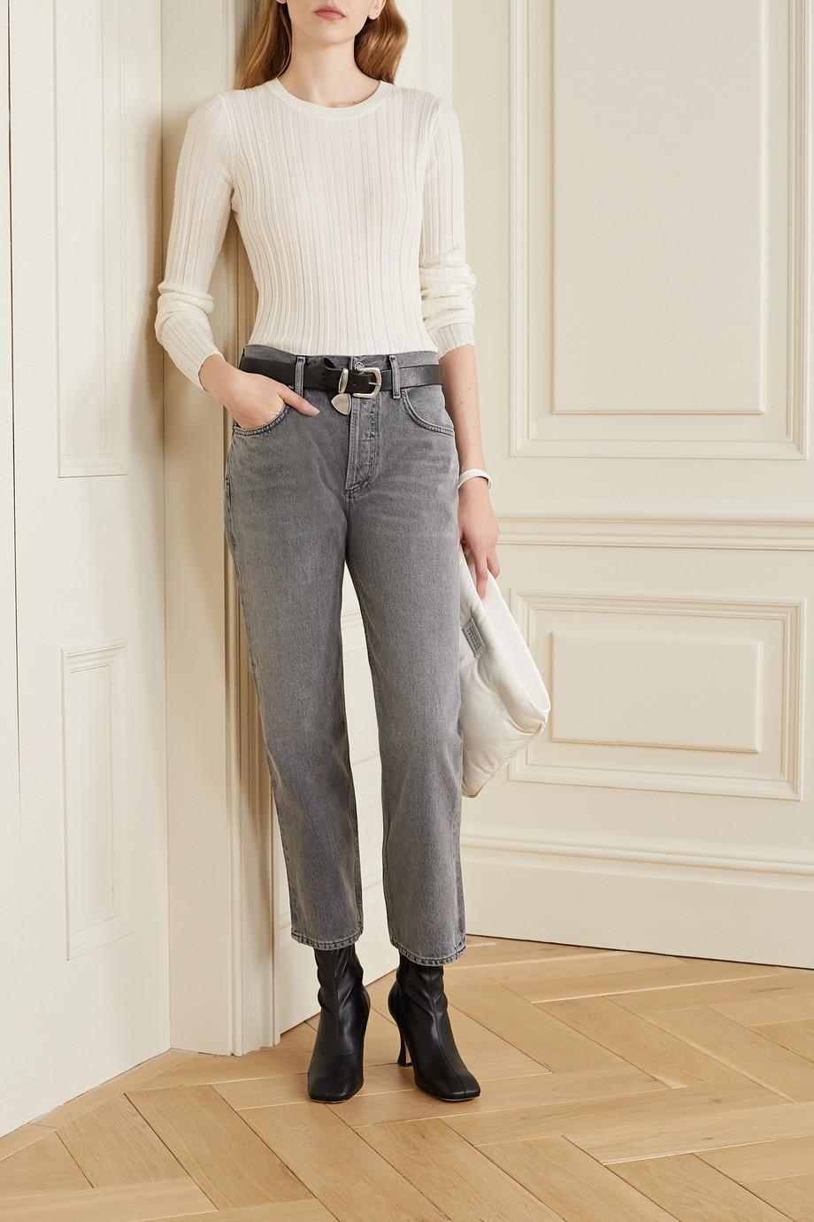 AGOLDE Ripley mid-rise straight-leg jeans