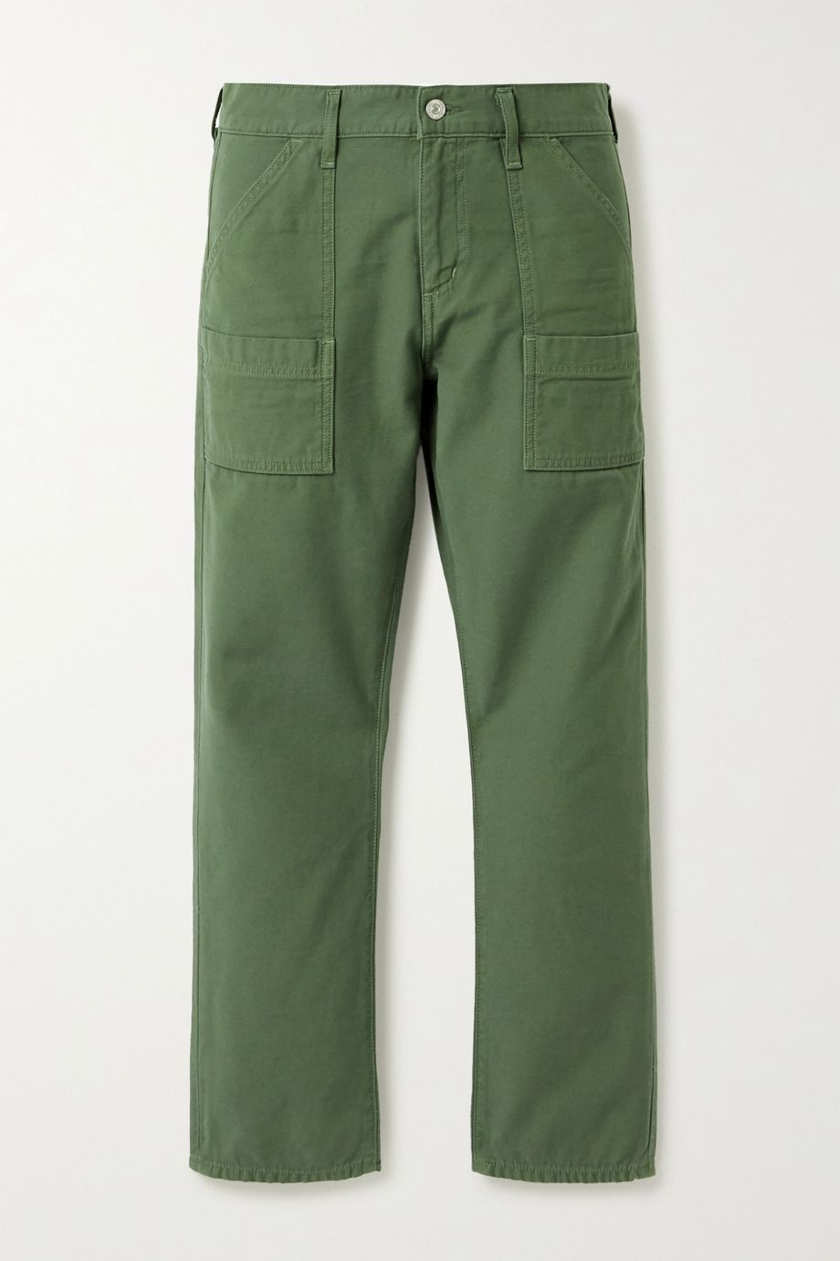 Citizens of Humanity Leah cotton-twill straight-leg cargo pants