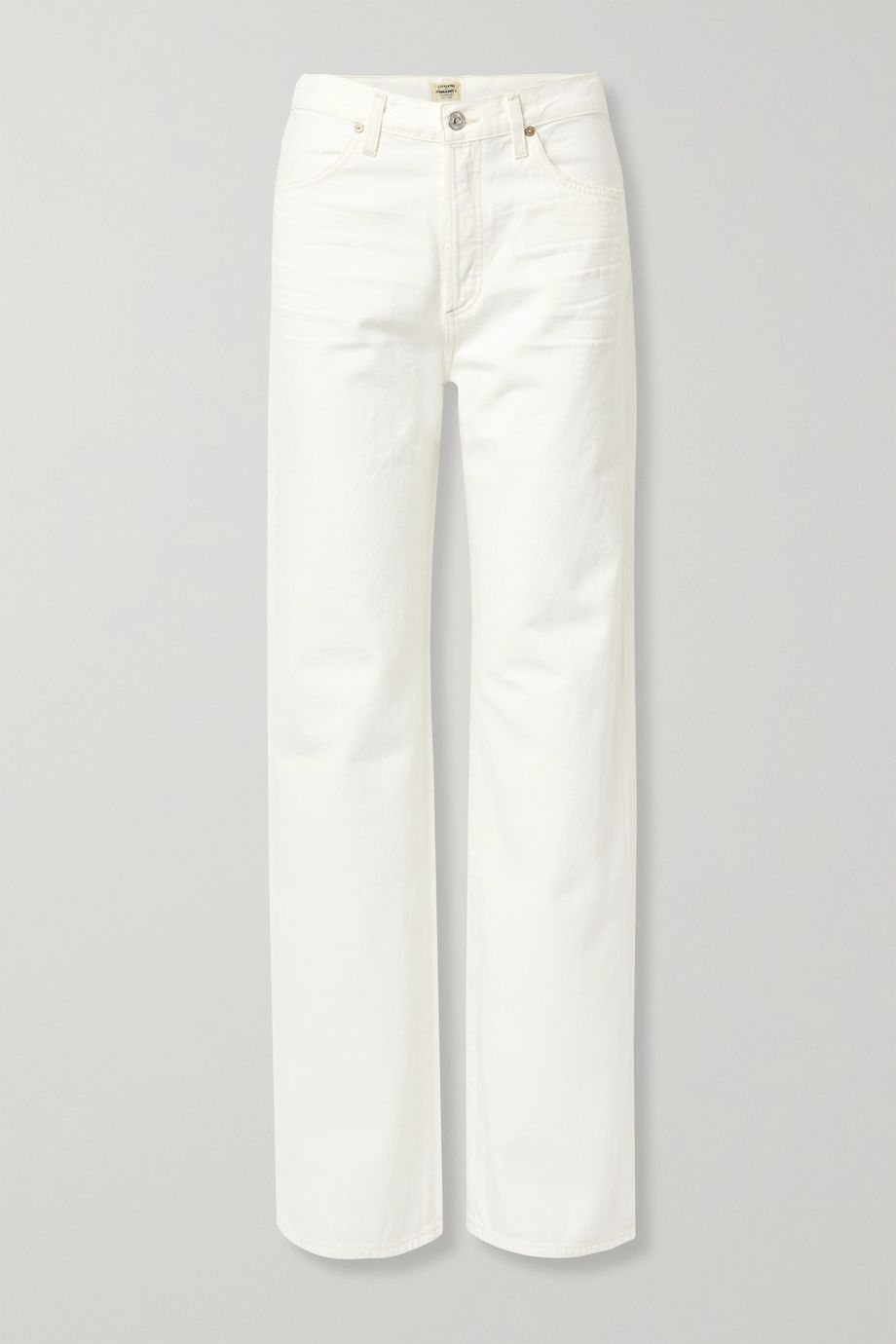 Citizens of Humanity + NET SUSTAIN Annina high-rise wide-leg jeans