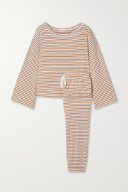 Eberjey Quincy striped jersey pajama set