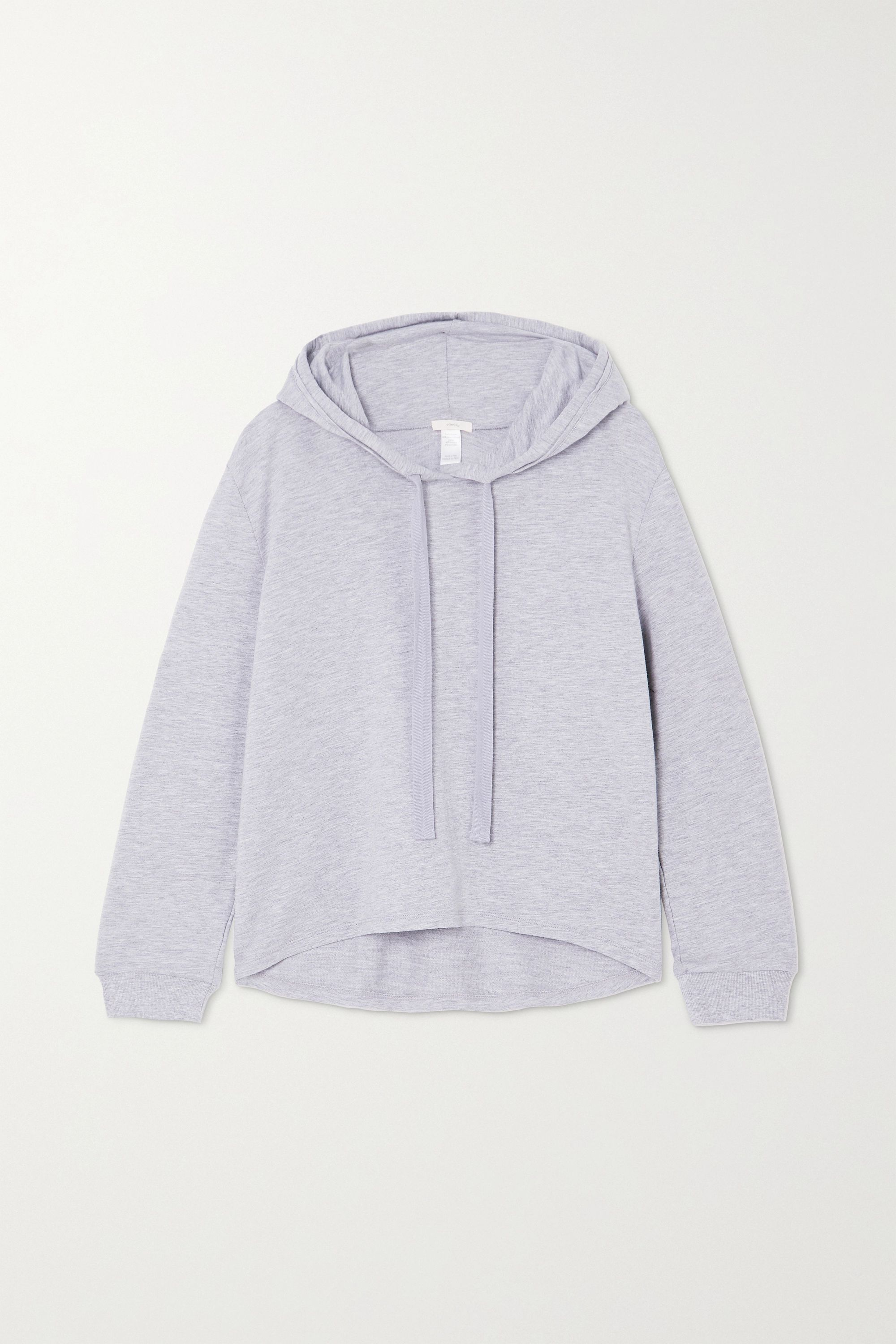Eberjey Blair stretch Pima cotton and modal-blend hoodie