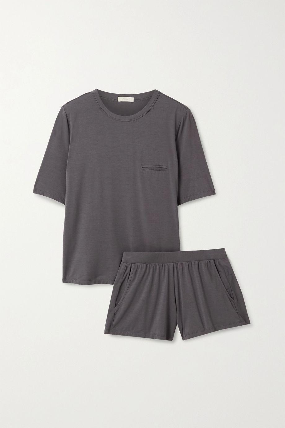 Eberjey Finley stretch-bamboo pajama set