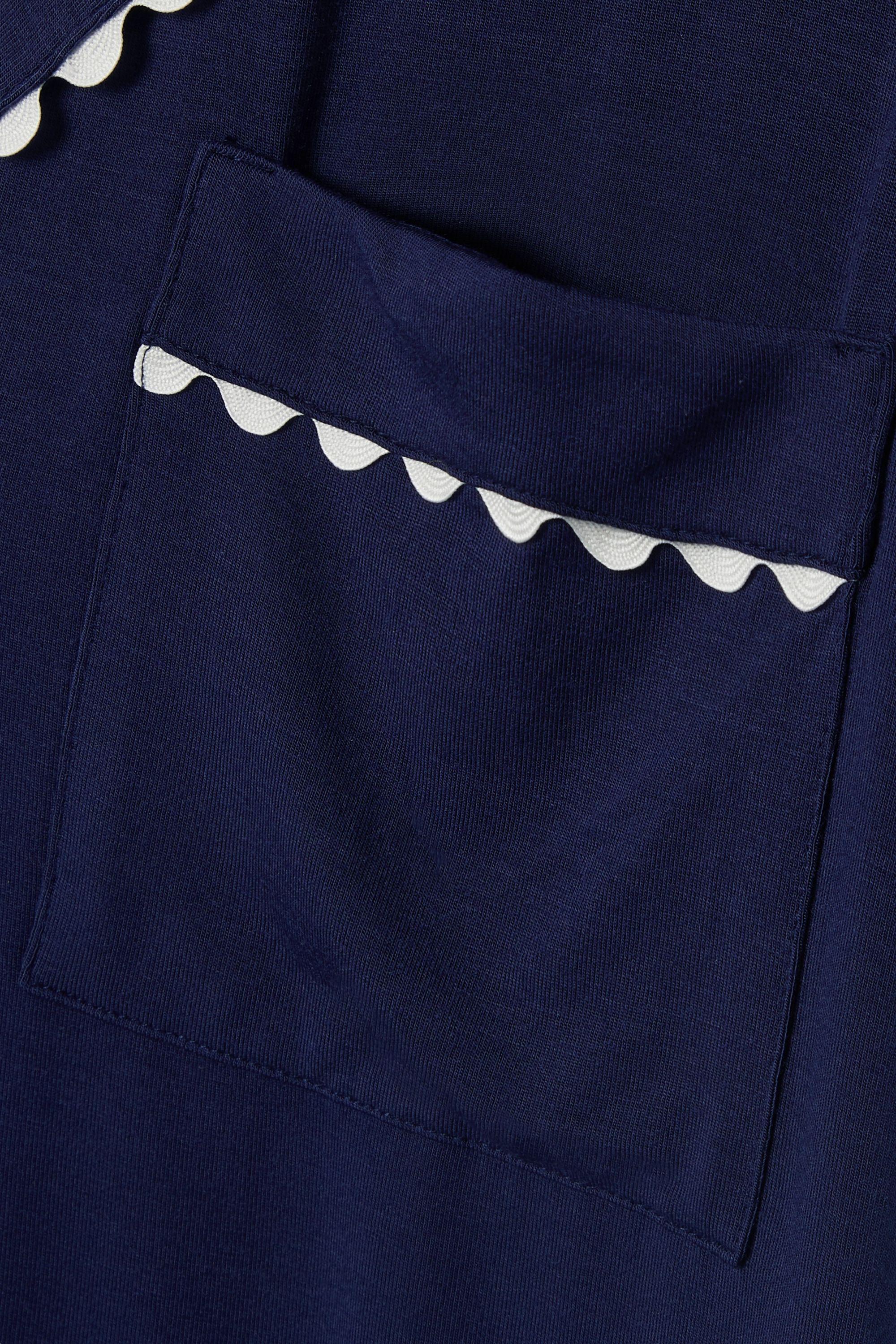 Eberjey Rickrack-trimmed stretch-modal jersey pajama set