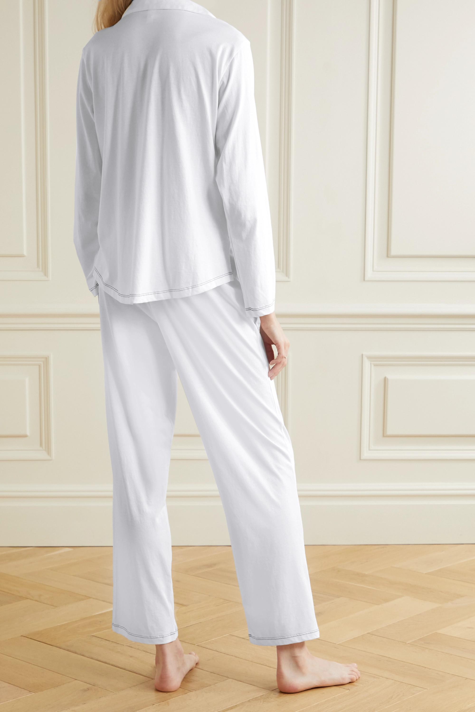 Eberjey Romy Pyjama aus Bio-Pima-Baumwoll-Jersey