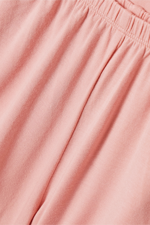 Eberjey Frida whipstitched stretch-modal jersey pajama set