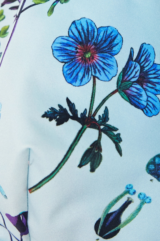 Stella McCartney Trippy floral-print bikini top