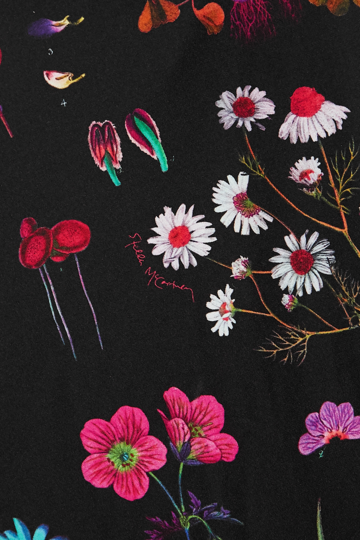 Stella McCartney Open-back floral-print swimsuit