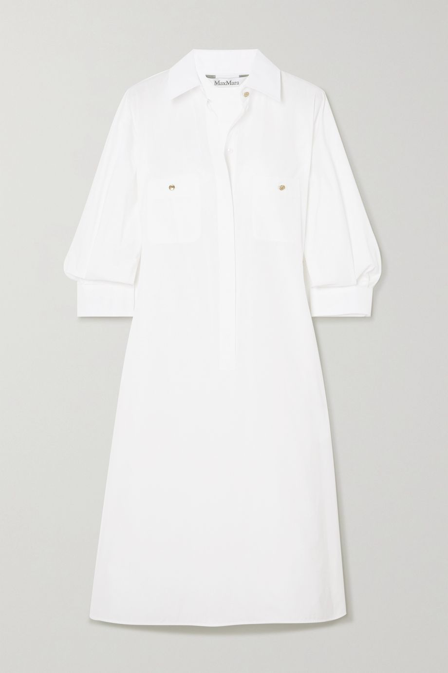 Max Mara Vibo cotton shirt dress