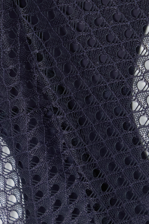 Calvin Klein Underwear Crochet and stretch-tulle briefs