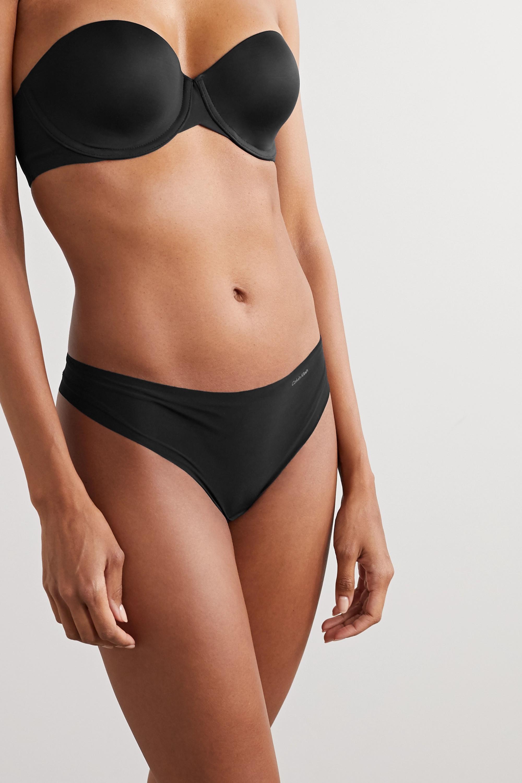 Calvin Klein Underwear Invisibles stretch-jersey underwired strapless bra