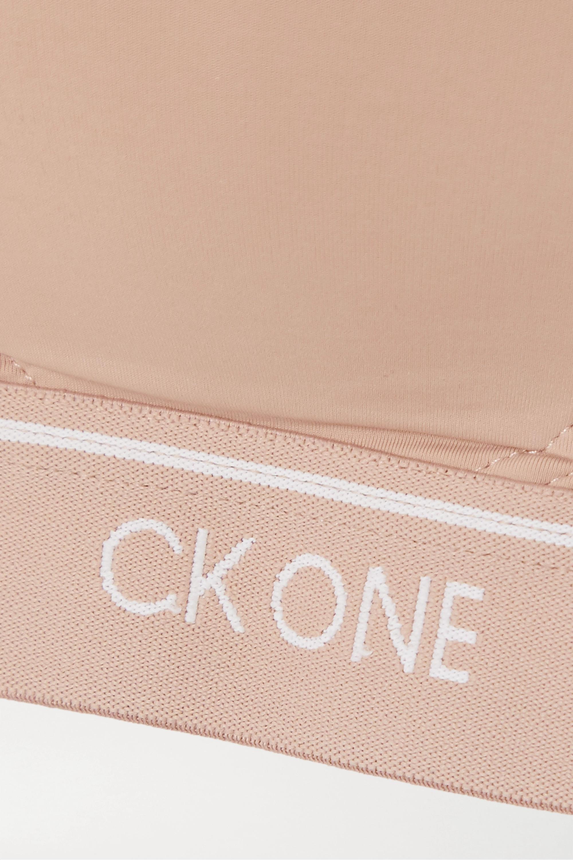 Calvin Klein Underwear CK One stretch-jersey soft-cup bra
