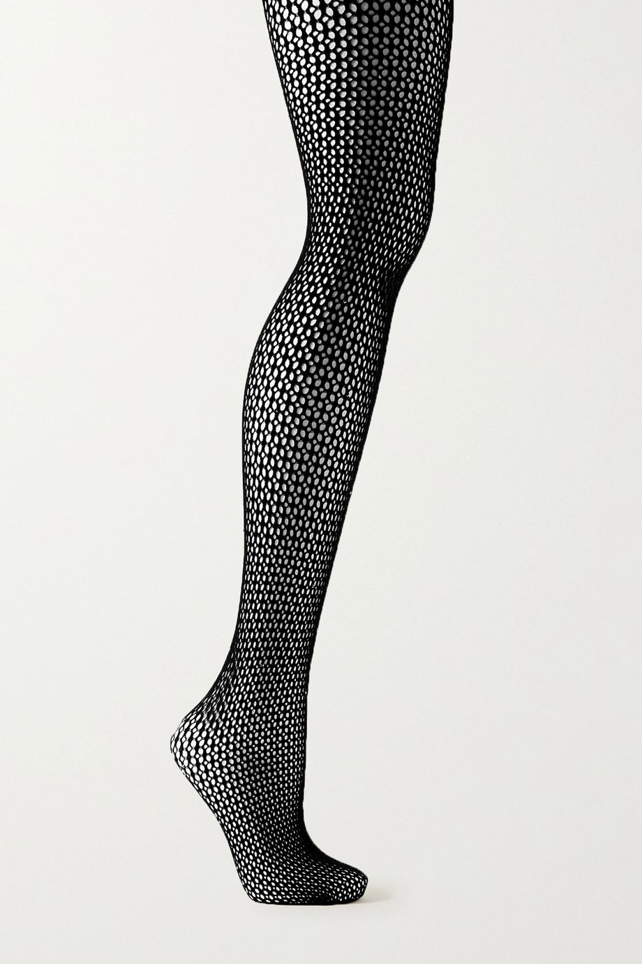 Wolford Jeanne Swarovski crystal-embellished fishnet tights