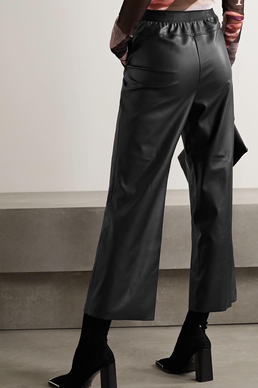 Wolford Estella faux leather straight-leg pants