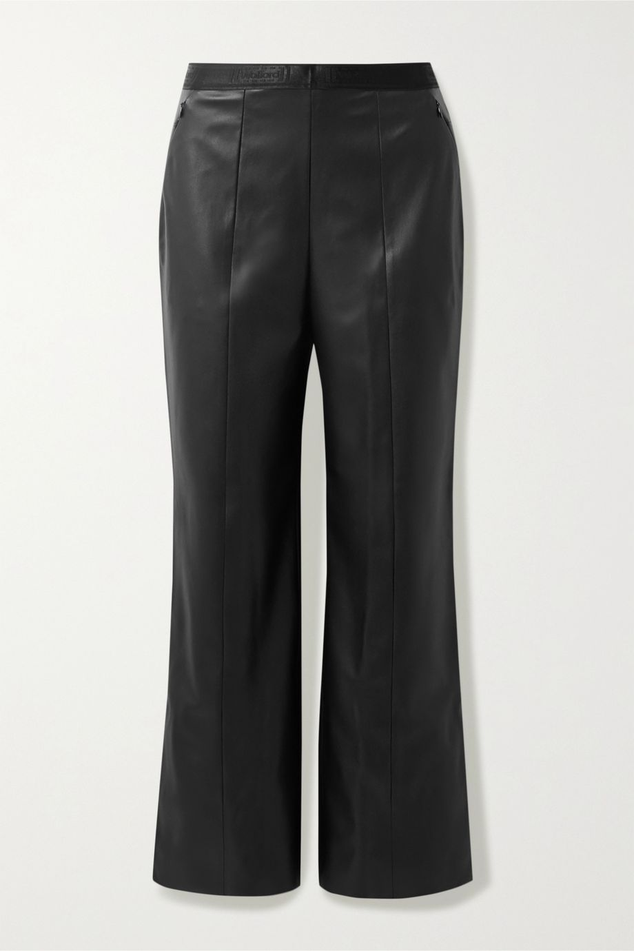Wolford Estella faux leather straight-leg pants