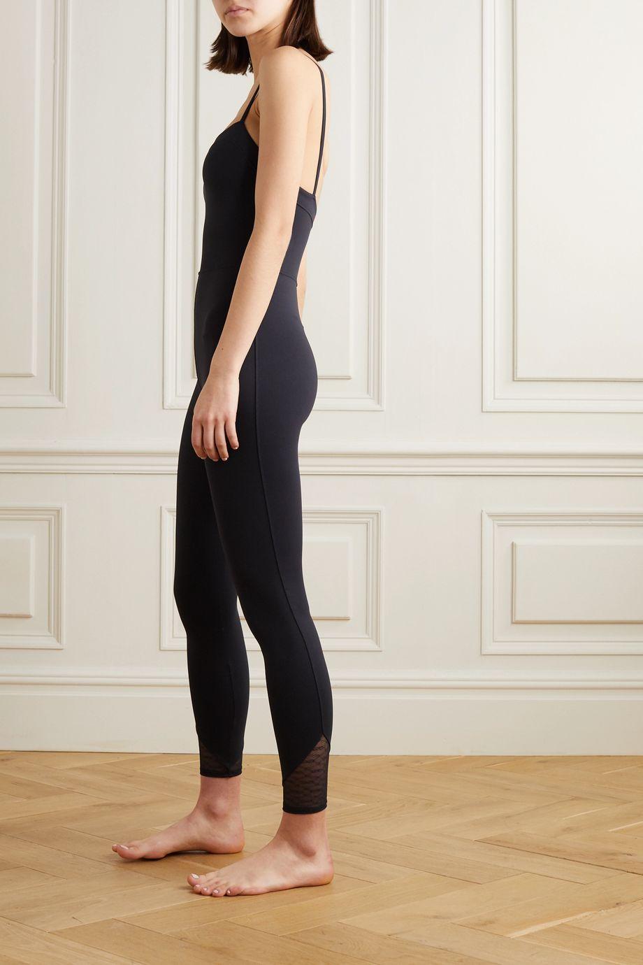 Eres Calais lace-trimmed stretch jumpsuit