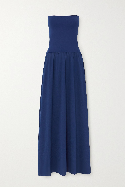 Eres - Ankara convertible cotton and stretch-jersey maxi dress