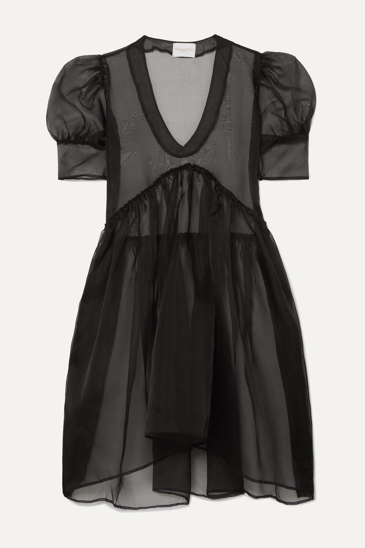 MaisonCléo Mini-robe en organza de soie Finola